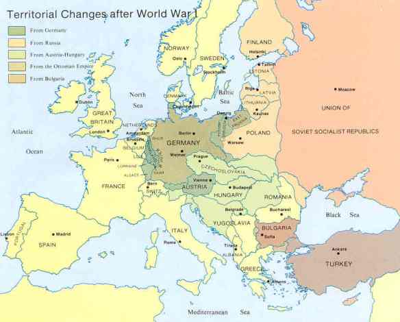map_Post-WWI-changes_Europe